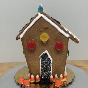 Halloween Gingerbread House
